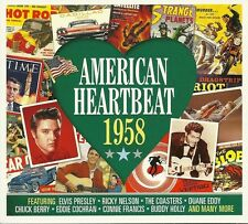 AMERICAN HEARTBEAT 1958 - 2 CD BOX SET - RICKY NELSON, DUANE EDDY & MORE
