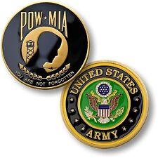 NEW U.S. Army POW MIA Challenge Coin. 60368.