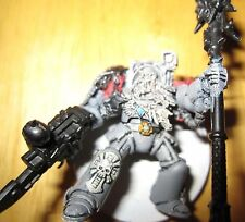 40K Space Wolves Rune Priest in Terminator armor conversion