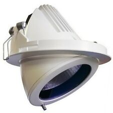 Targetti 35w 70w 150w Recessed Adjustable Downlight White G12 CDMT Lamp 1T1301