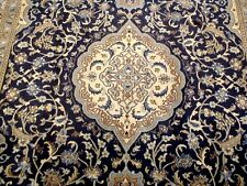 9X6 1940's INCREDIBLE AUTHENTIC HAND KNOTTED ANTIQUE WOOL NAIN PERSIAN RUG