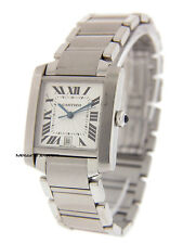Cartier Tank Francaise Men's Automatic Stainless Steel