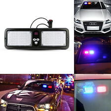 86LED Car SUV Bright SunShield Lamp Emergency Flash Strobe Sun Visor Light White
