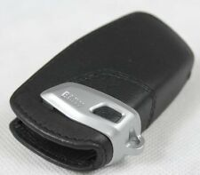 BMW F20 F21 F22 F25 F26 F30 F31 LEATHER CASE KEY FOB COVER HOLDER BLACK