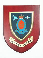 7 PARA RHA ROYAL HORSE ARTILLERY CLASSIC HAND MADE IN UK REGIMENTAL MESS PLAQUE