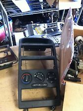 VAUXHALL ASTRA MK4 CENTRE CONSOLE, HEATER CONTROLS WITH AIRCON AND RADIO DISPLAY