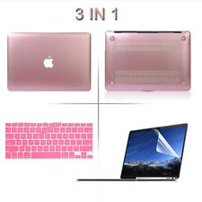Hard Case+Keyboard Cover+LCD Film 3 in1 MacBook Set for Air Pro Retina 11 13 15""