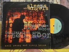 NEIL YOUNG AND CRAZY HORSE, SLEEPS WITH ANGELS - DOUBLE LP 1-45749