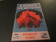 EXODUS: THE LIFE AFTER #1 FRANCAVILLA  VARIANT LOCAL COMIC SHOP DAY RARE HTF!!