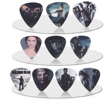 10pcs 0.71mm walking dead Guitar Picks Plectrums Printed Both Sides