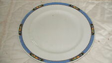C4 Pottery Soho Pottery Solian Ware Orchard Plate 24cm 5E2A Some Crazing