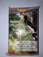 Malaysia Bird Series no.6 Coins Card 10set
