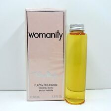 THIERRY MUGLER WOMANITY EAU DE PARFUM ECO-REFILL BOTTLE 50 ML / 1.7 FL.OZ. NIB