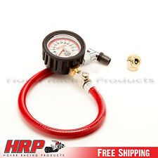 Longacre Analog Tire Pressure Gauge 0-60 PSI w/ 1 Year Warranty PN: 50417