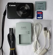Canon PowerShot S200 10.1MP Digital Camera - Black
