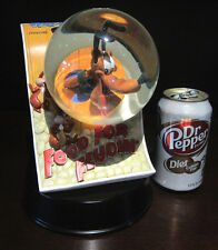 RARE Disney Pluto Mickey Mouse's Dog Chip N And Dale Movie Snowglobe Statue