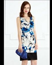 "BNWT "" Coast "" Size 8 Gala Floral Print Dress Races Summer Next Day Delivery New"