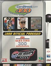 LAS VEGAS MOTOR SPEEDWAY 2000 CARS DIRECT.COM 400 PROGRAM WITH COVER PATCH