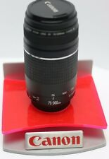 Canon 75-300mm F4-5.6 III EF Zoom Lens EOS 6D 5D 1D 1Ds 7D Rebel Mark II III IV