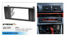 Xtrons Stereo Radio 2Din Fascia Facia Trim For BMW 5 Series E39 525i X5 E53