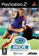 WCR  WORLD CHAMPIONSHIP RUGBY            -----   pour PS2