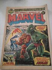 Mighty World of Marvel Issue 24 UK Comic