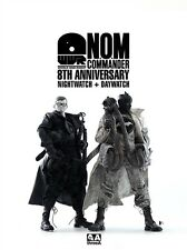 Ashley Wood  threea 3a Nom commander 8th anniversary night watch + Day watch set