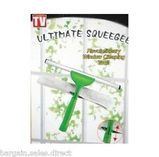 "PRO 12"" WINDOW CLEANING CLEANER SQUEEGEE & SPONGE BOX SET"