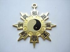 BRUCE LEE FLYING STAR YIN YANG KUNG-FU MARTIAL ARTS FILM TAO LUCKY CHARM SIGN