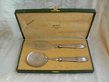 ANTIQUE FRENCH STERLING SILVER (HANDLE)ICE CREAM SERVING SET,LATE 19th.