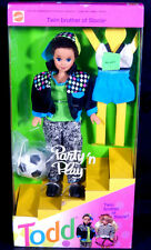 NIB BARBIE DOLL 1992 PARTY 'N PLAY TODD SOCCOR  RUSSIA  WE HAVE GREAT COMB SHIP