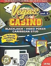 VEGAS CASINO GAMES VOLUME 2: : CARD GAMES FOR PALM OS - PC/MAC,  Windows NT, Win