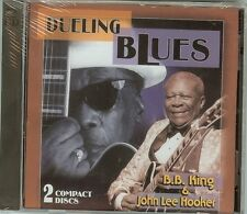 DUELING BLUES - B.B. KING / JOHN LEE HOOKER - 2 CD SET - NEW