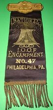I.O.O.F. National Encampment No.47 Philadelphia, PA F L Y odd fellows seeing ey