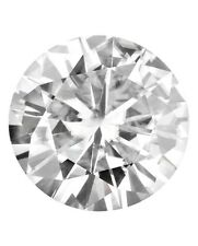 Loose Round Genuine 9mm Moissanite = 3 CT Diamond