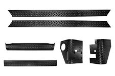 Rugged Ridge Body Armor 6 Piece Kit 97-06 Jeep Wrangler 11650.51 Black