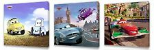 Disney Cars II Kids canvas wall art plaque pictures set of three pack II