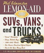 Lemon-Aid 2007: SUVs, Vans, and Trucks-ExLibrary