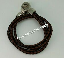 Brown Black Band cum Bracelet Stylish Trendy Wrist Band Men's Fashion