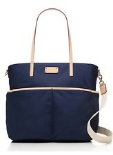 KATE SPADE Kennedy Park Nylon Honey Baby Diaper Bag Indigo Navy wkru2284 NWT