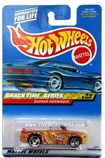 2000 Hot Wheels #16 Snack Time Dodge Sidewinder mustard full crd
