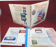 C64: The American Challenge: A Sailing Simulation - Mindscape 1986