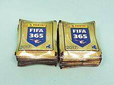 """Panini Fifa 365 """"2017"""" 100 Tüten / 500 Sticker Neu & OVP Golden World  football"""