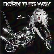 LADY GAGA : BORN THIS WAY / CD - TOP-ZUSTAND