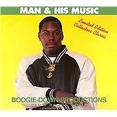 BOOGIE DOWN PRODUCTIONS - MAN & HIS MUSIC (LIMITED EDITION) CD *NEARLY NEW*