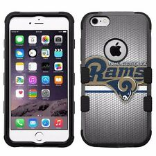 "for Apple iPhone 6/6S Plus (5.5"") Armor Hybrid Case Los Angeles Rams #S"