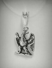 STERLING SILVER PENDANT CHARM SOLID 925 NEW SMALL EAGLE PE000860 EMPRESS