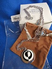 "Invicta Sterling Silver Necklace 35"" Luce Italian Designer MSRP $824"