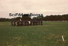 ANSCO COLOR 35mm Slide Air Force ROTC Parade Band Drums Old Cars 1954 L@@K WOW!