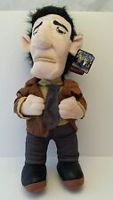 "Toy Warehouse Plush 16"" The Gangsters Mob Man In Brown Jacket Sewn Eyes"